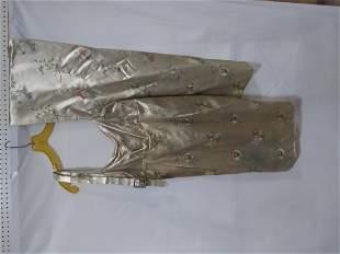 Oriental Custom made dress, Shawl and belt size small