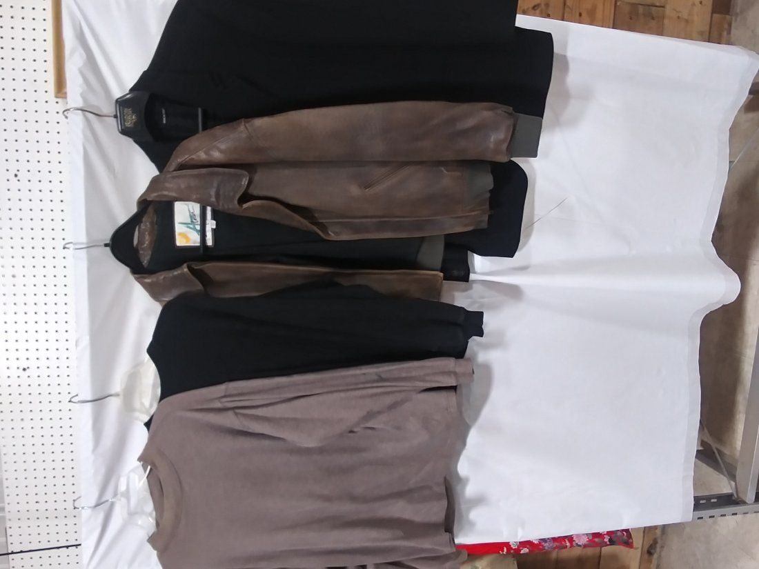 Men's lot of coat jacket sweaters 4pcs