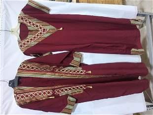 2 ethnic robes
