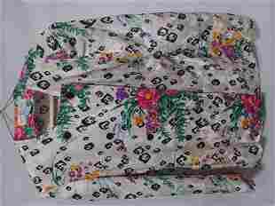 Oriental buttoned shirt