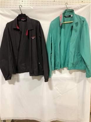 Two Polo sport Ralph Lauren zip-up windbreakers