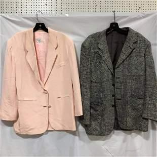 Paul Smith black / white Blazer Henri Handel pink suit