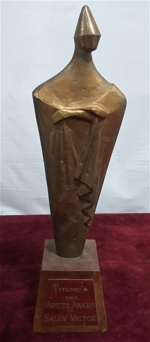 Bronze trophy 1963