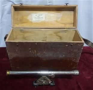 Transit in original wooden box Sarrett Co