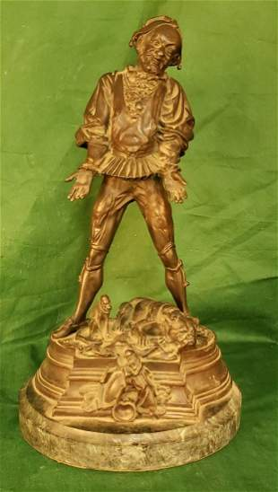 Barye Bronze 14.5 in Court Jester