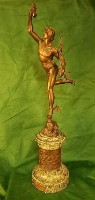 Bronze Statue of Mercury 29.5in
