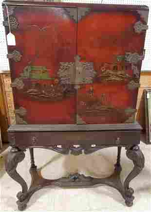 1920 Cabinet in Chinese style 62in h x 34in w