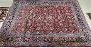 """Semi antique Persian rug Sarouk 106"""" x 165"""""""