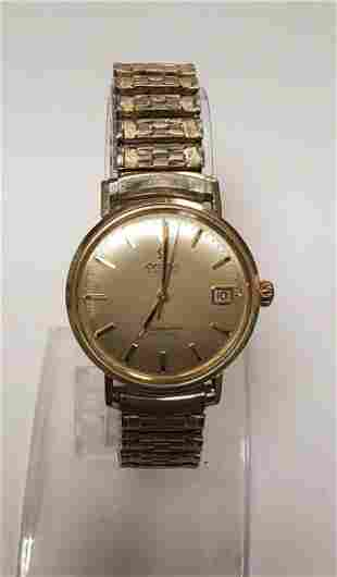 Omega Automatic Seamaster De ville 14K watch