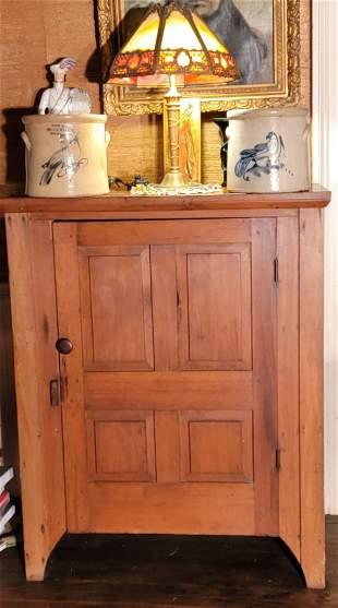 1 door 3 shelf solid wood Jelly Cupboard