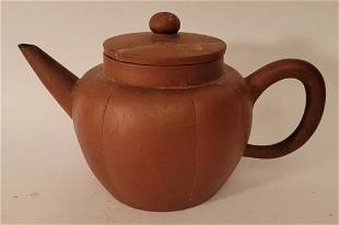 Yixing Teapot  Artist signed