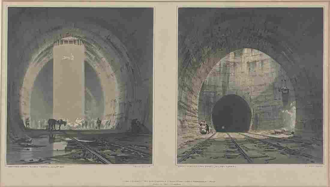 John Cooke Bourne (1814-1896), History of London &