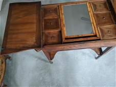 A Hepplewhite 18th century mahogany and rosewood