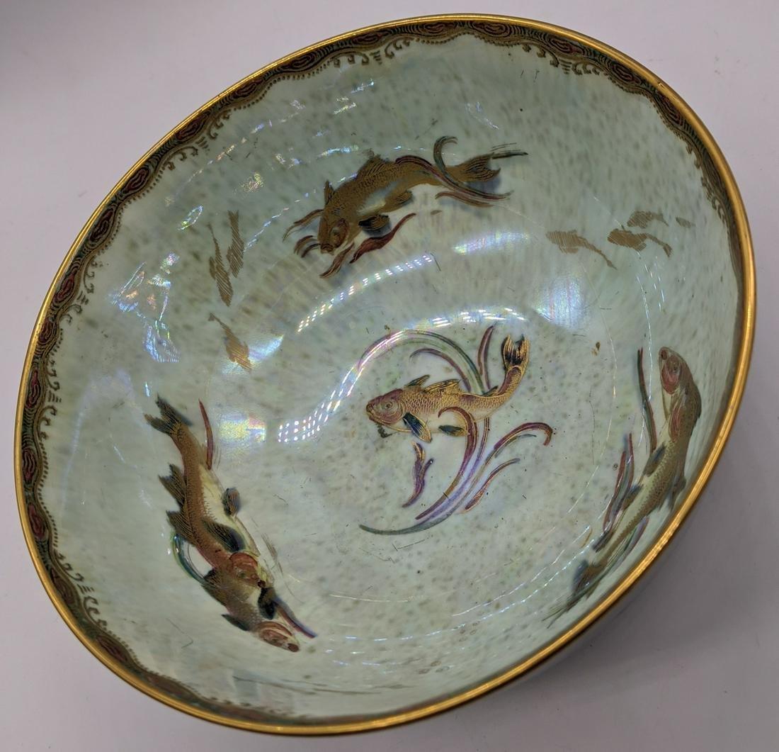 A Wedgwood lustre bowl by Daisy Makeig-Jones, mottled
