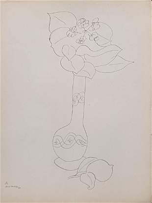Henri Matisse (1869-1954), still life of flowers,