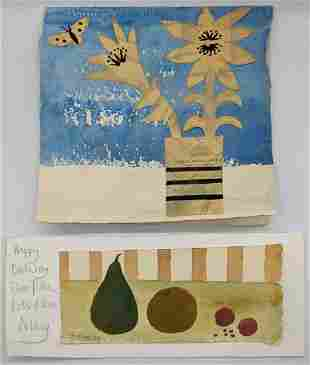 Mary Fedden (British, 1914-2012), still life of fruit,