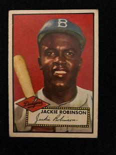 1952 Topps #312 Jackie Robinson