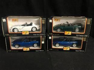 124 SCALE MAISTO MODEL CARS LOT