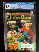 SUPERMAN'S PAL JIMMY OLSEN #121 (DC COMICS) 1969 **CGC