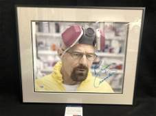 Bryan Cranston Signed Breaking Bad 11x14 Framed Photo