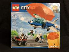 Lego City 60208 Sky Police Parachute Arrest Building Se