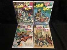 VINTAGE STAR TREK COMIC BOOK LOT (GOLD KEY COMICS)