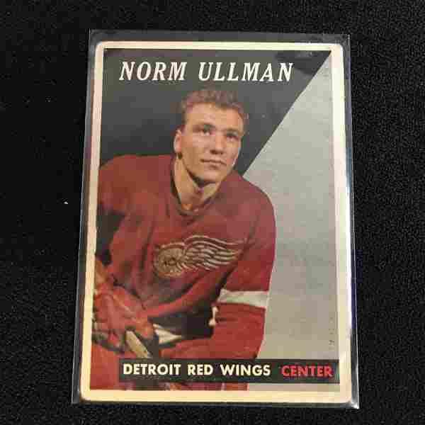 1958-59 TOPPS NO. 65 NORM ULLMAN