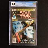 STAR TREK 1 MARVEL COMICS 1980 CGC GRADE 94