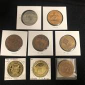 VINTAGE CANADIAN TOKENS COINS LOT