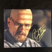 Bryan Cranston Signed Breaking Bad 11x14 Photo