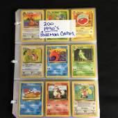 1990s POKEMON CARDS (200 CARDS)