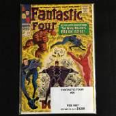 MARVEL COMICS FANTASTIC FOUR NO59