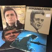 JOHNNY CASH VINYL RECORD LOT