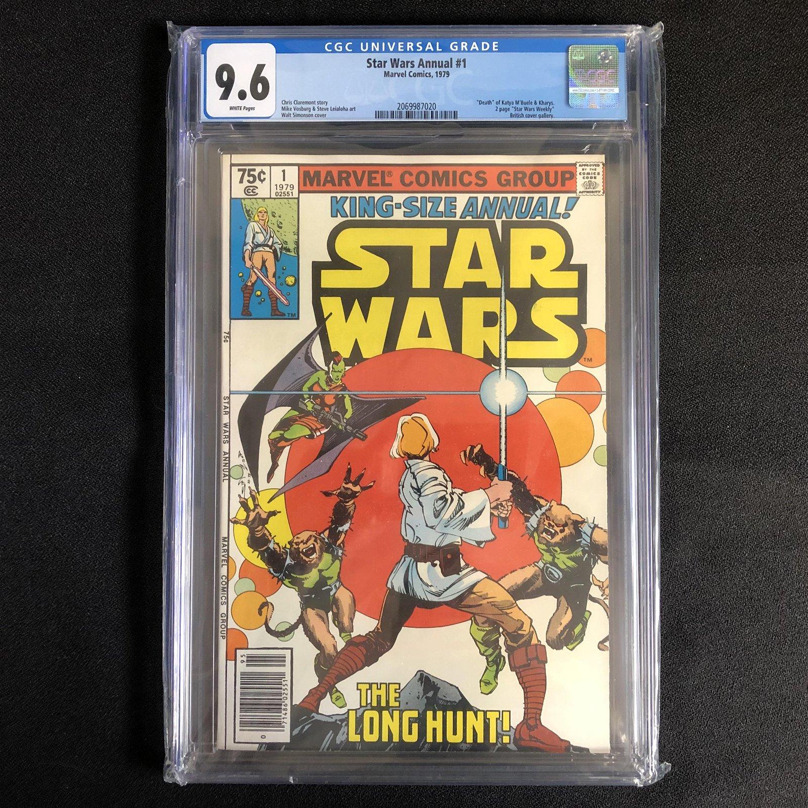 STAR WARS ANNUAL #1 (MARVEL COMICS) 1979 -9.6 GRADE-