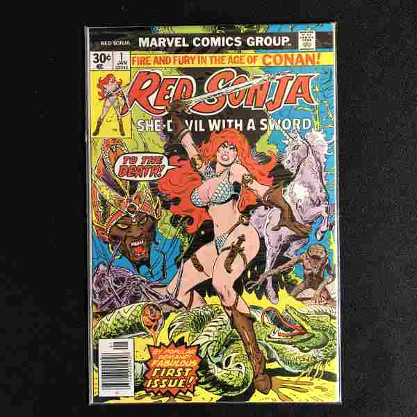 MARVEL COMICS RED SONJA NO.1