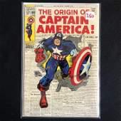 THE ORIGIN OF CAPTAIN AMERICA #109 (MARVEL COMICS)