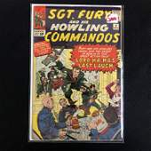 SGT. FURY & HIS HOWLING COMMANDOS #4 (MARVEL COMICS)