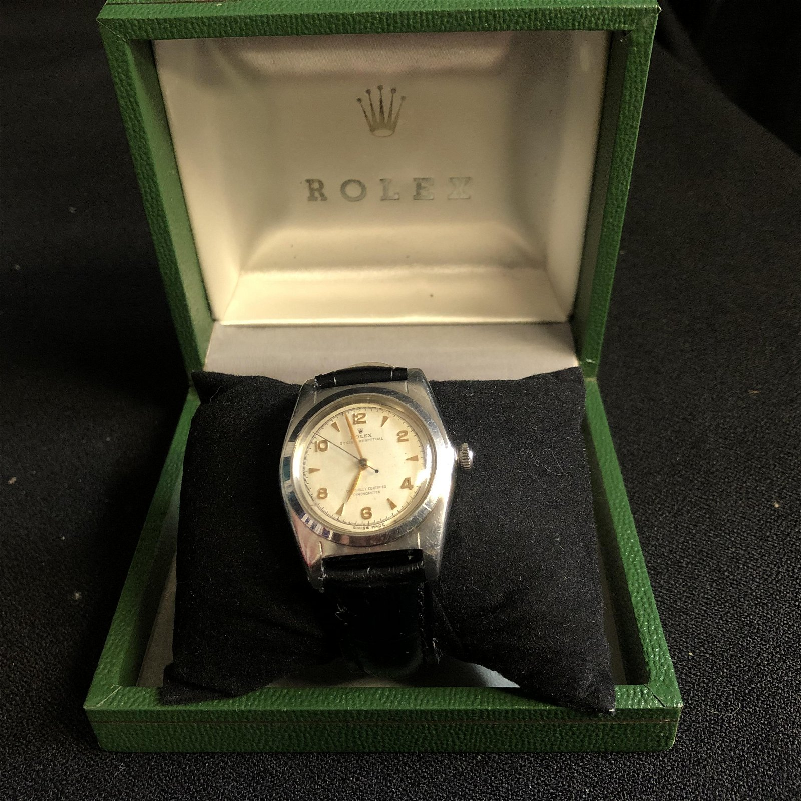 RARE Vintage Mens Rolex Oyster Auto Perpetual