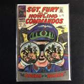 SGT FURY and his HOWLING COMMANDOS 43 MARVEL COMICS