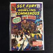 SGT FURY and his HOWLING COMMANDOS 44 MARVEL COMICS