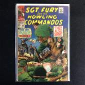 SGT FURY and his HOWLING COMMANDOS 46 MARVEL COMICS