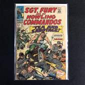 SGT FURY and his HOWLING COMMANDOS 47 MARVEL COMICS