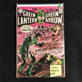GREEN LANTERN CoStarring GREEN ARROW 77 DC COMICS