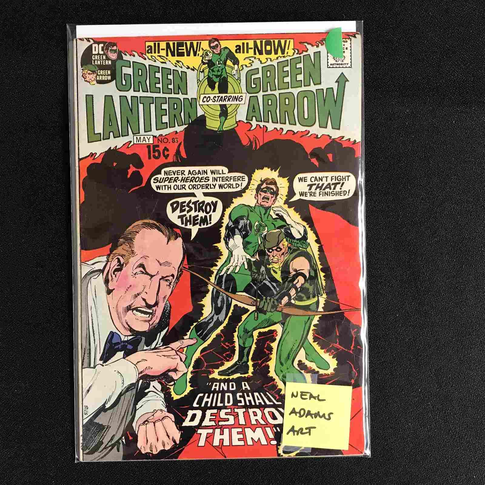 GREEN LANTERN Co-Starring GREEN ARROW #83 (DC COMICS)