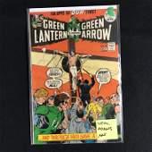 GREEN LANTERN Co-Starring GREEN ARROW #89 (DC COMICS)