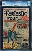 Fantastic Four #13 Cgc 8.5 1st Watcher Appearance