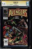 MARVEL COMICS AVENGERS NO. 284 SIGNED BY STAN LEE