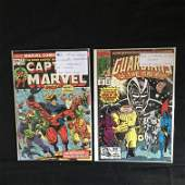 CAPTAIN MARVEL/GUARDIANS OF THE GALAXY COMIC BOOK LOT