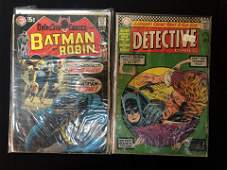 VINTAGE DC COMICS BOOK LOT BATMAN and ROBIN