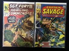 VINTAGE MARVEL COMICS BOOK LOT SGT FURY 37  CAPTAIN